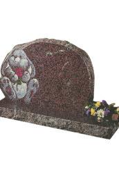 Engraved headstone