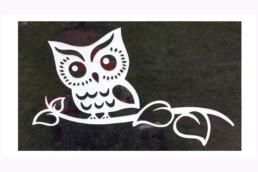 Owl headstone essex